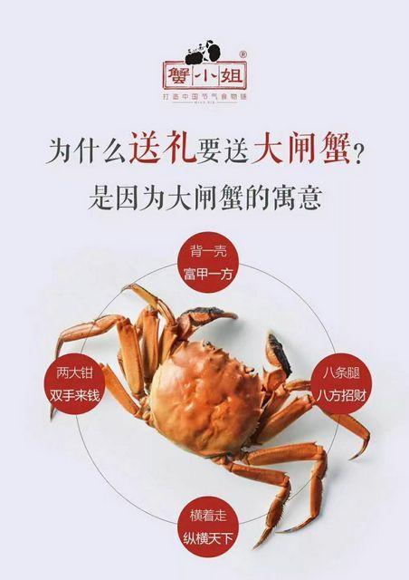 中秋送礼送大闸蟹的寓意